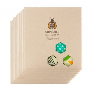 10 Beeswax Wrap Starter Sets - The Jumbo Pack
