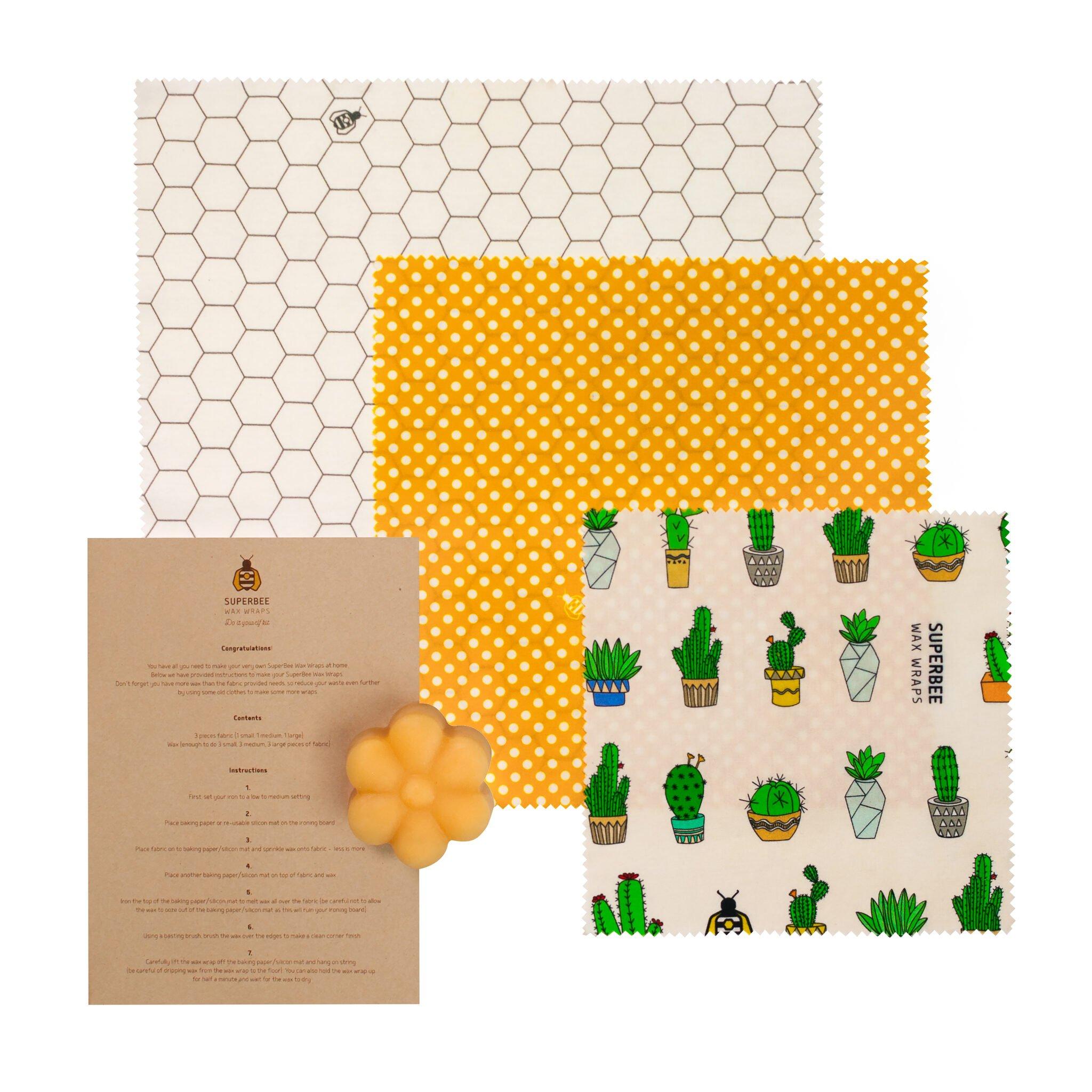 Introducing the DIY Beeswax Wraps Kit
