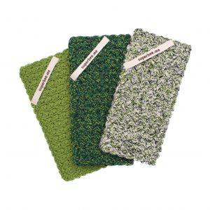 Hand crocheted Eco Dishcloth Set