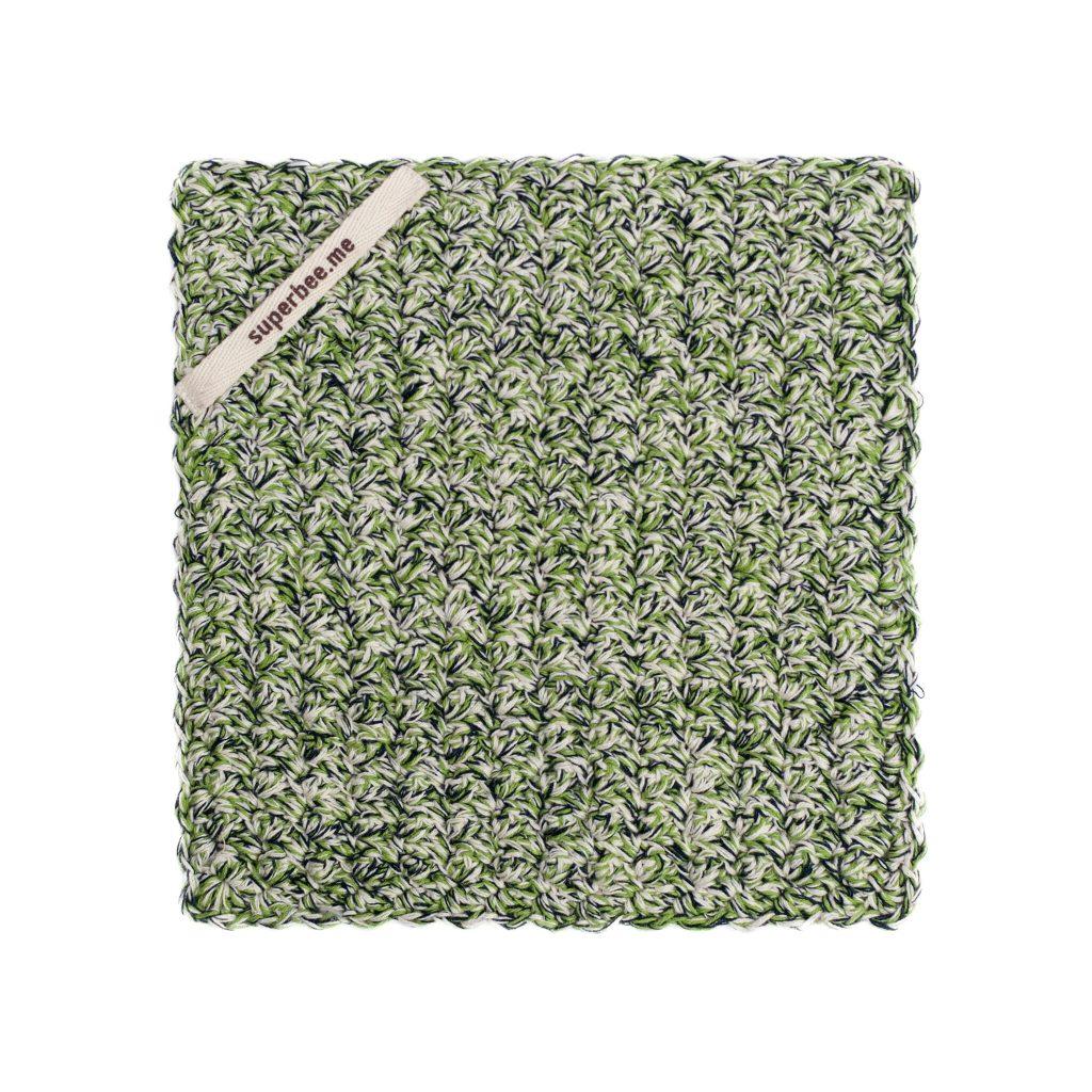 eco dishcloth gray