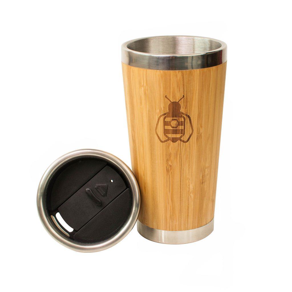 Reusable Bamboo Tumbler