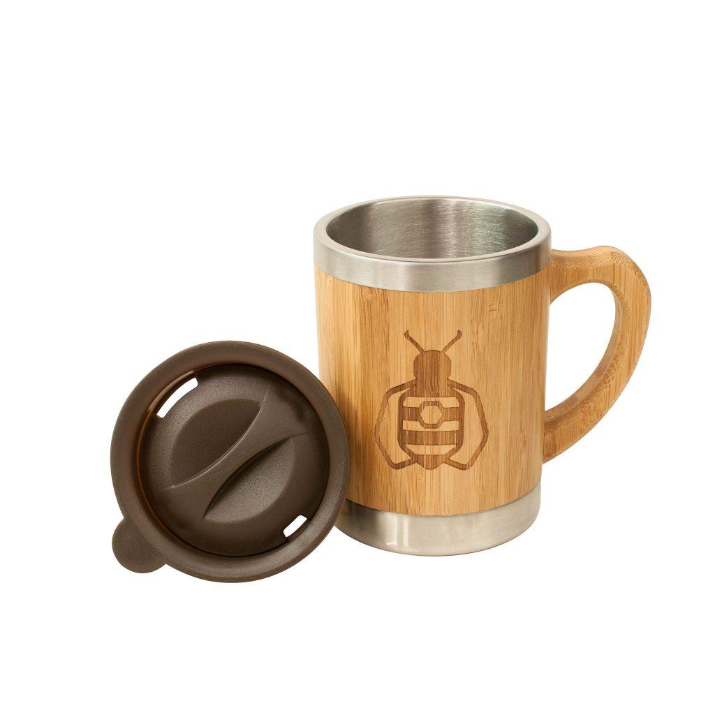 Reusable Bamboo Coffee Mug
