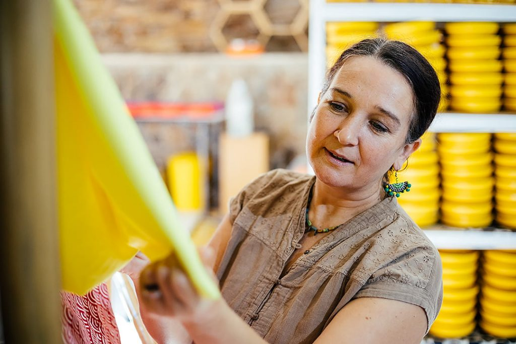 Antoinette Jackson, Founder of SuperBee Wax Wraps
