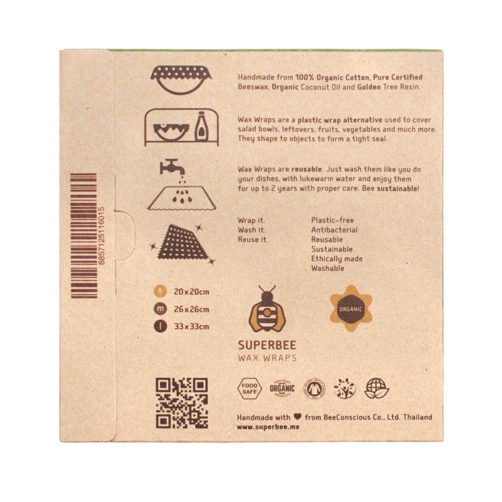 Beeswax Wrap Starter Set Instructions