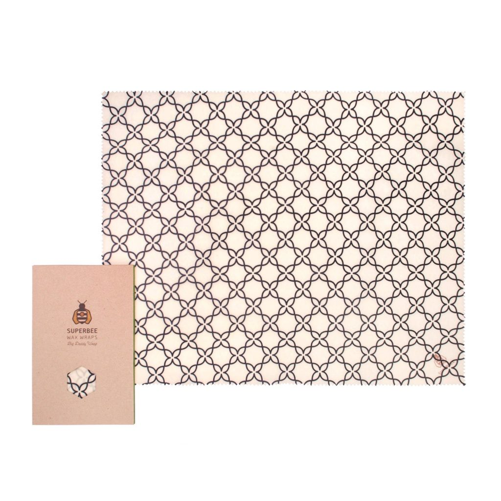 Beeswax Wrap XXL in Meadow Design
