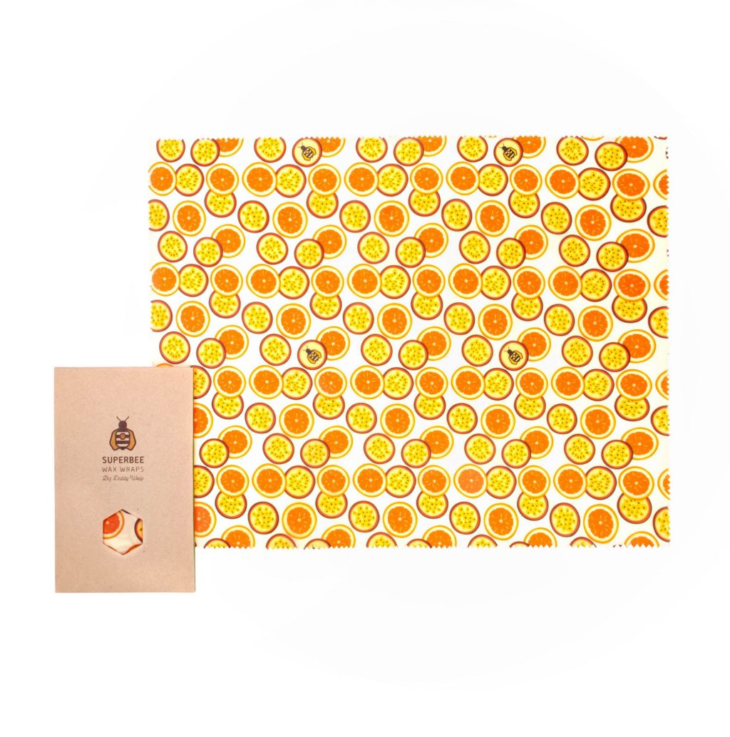 Beeswax Wrap XXL in Passion Som Design