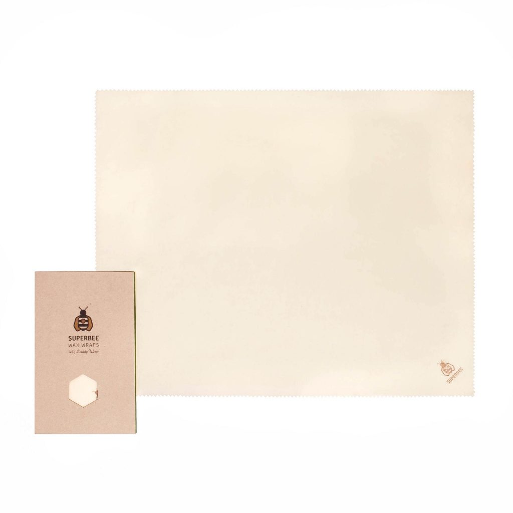Beeswax Wrap XXL in Natural Design