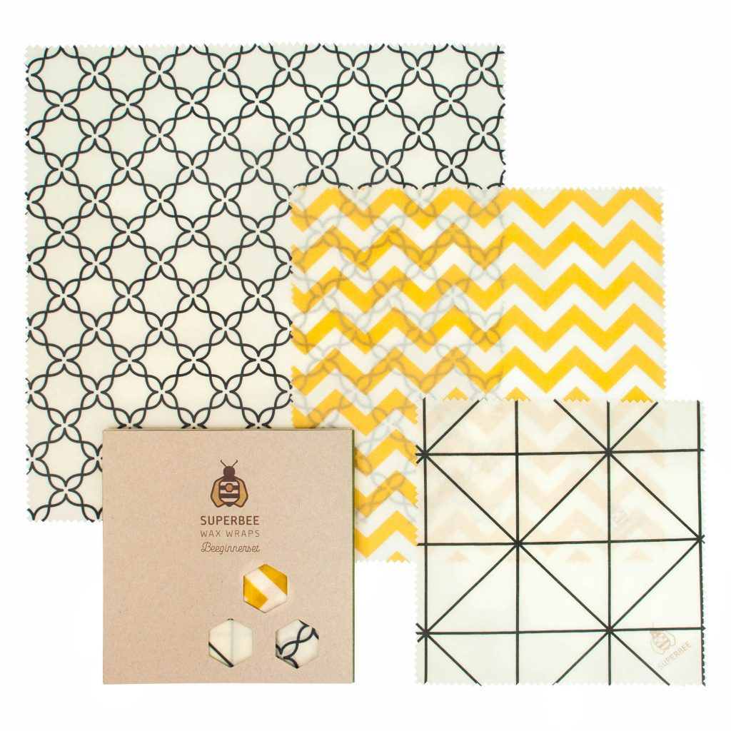 Beeswax Wraps Set in Classical Design