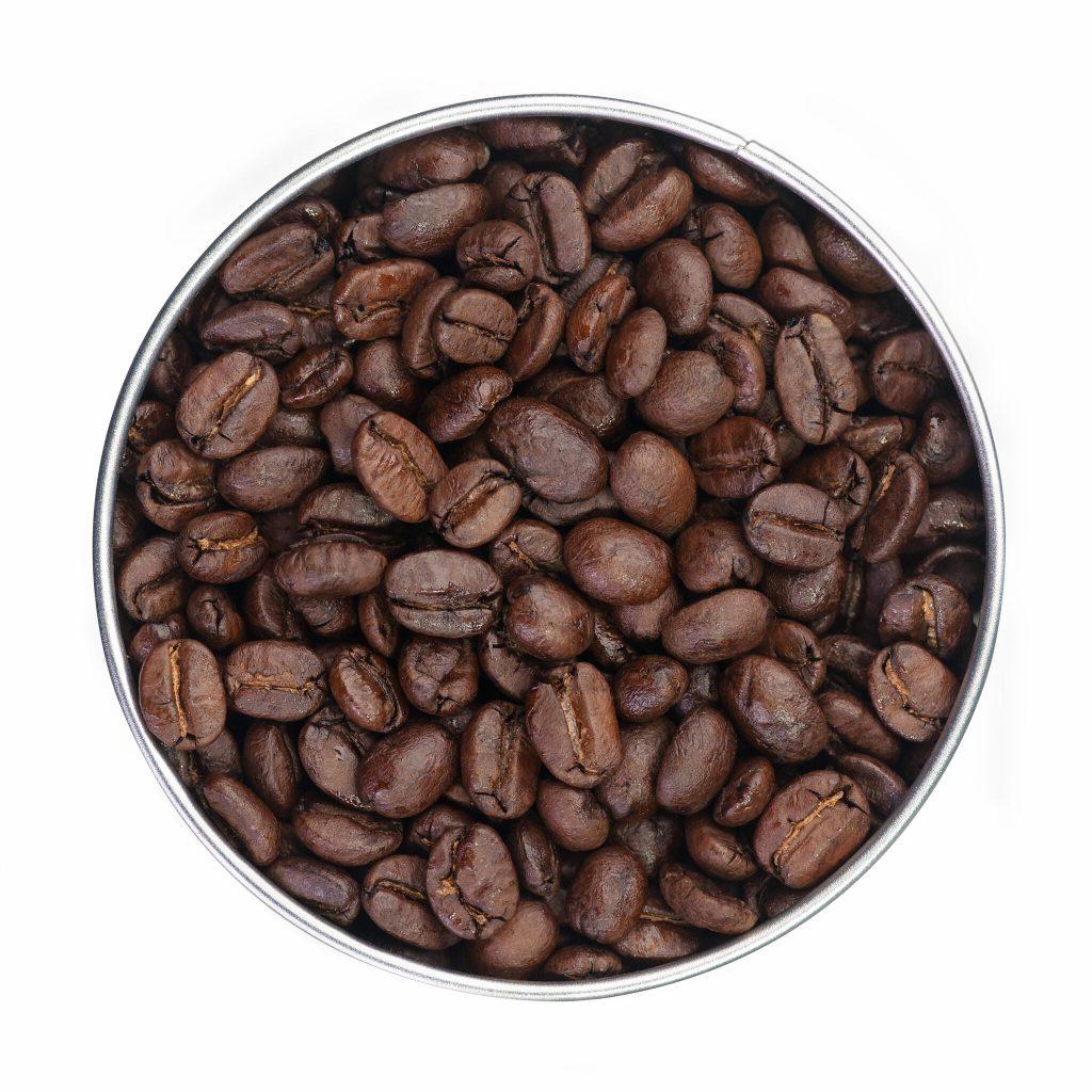 Coffee Beans in Tin