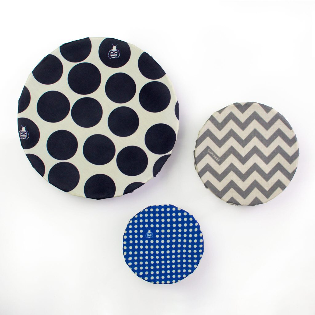 Hipster Beeswax Wraps on Bowls