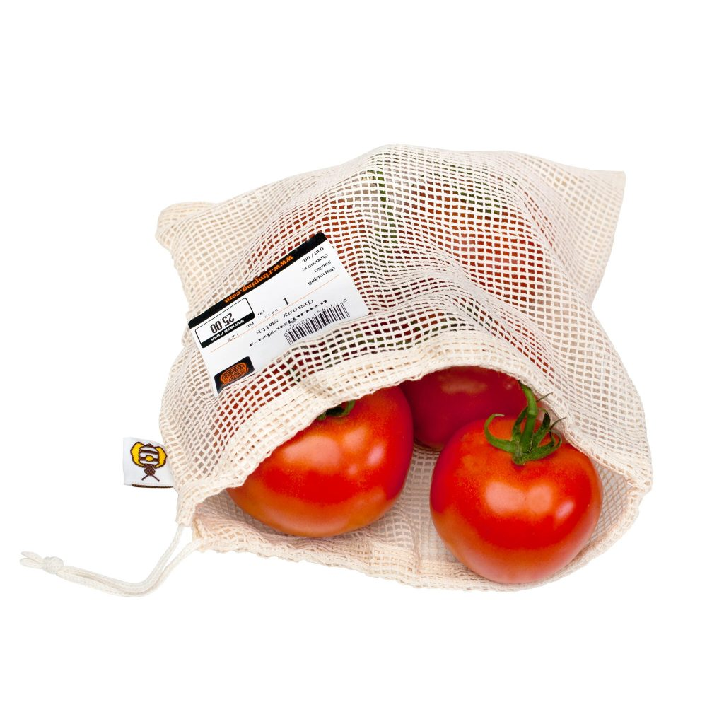 Mesh Bags with Tomatos