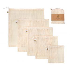 Organic Cotton Mesh Bags