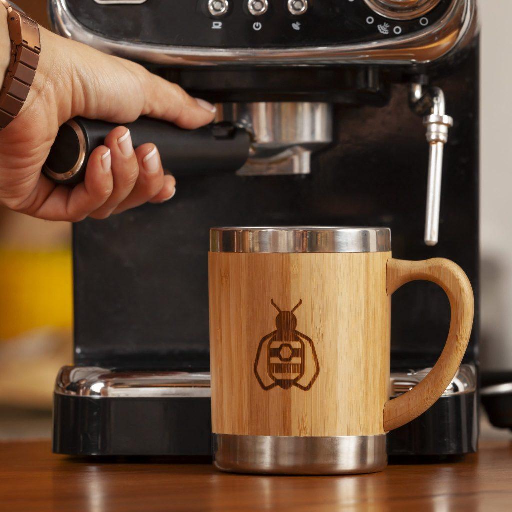 Mug used with coffee machine