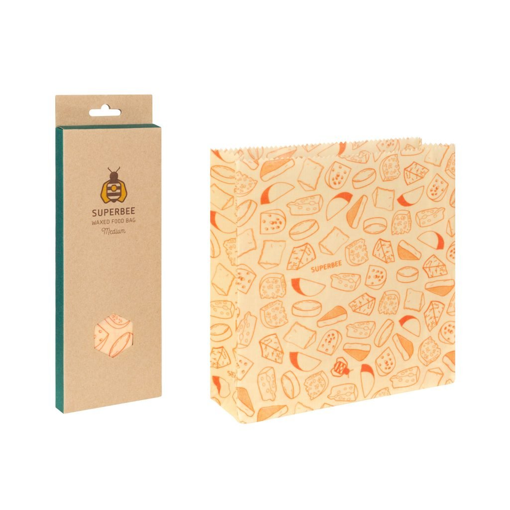 Beeswax Bag Size M with Package