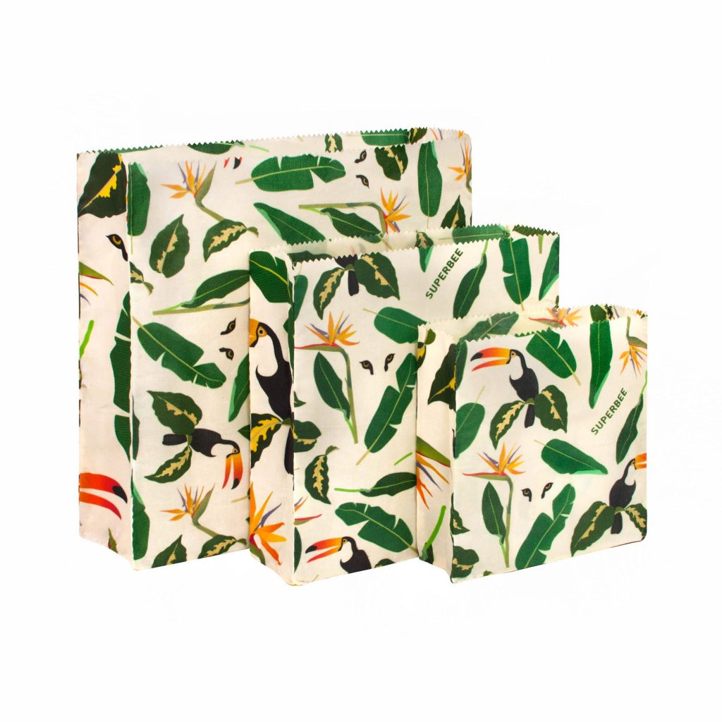 Jungle Waxed Food Bag Set