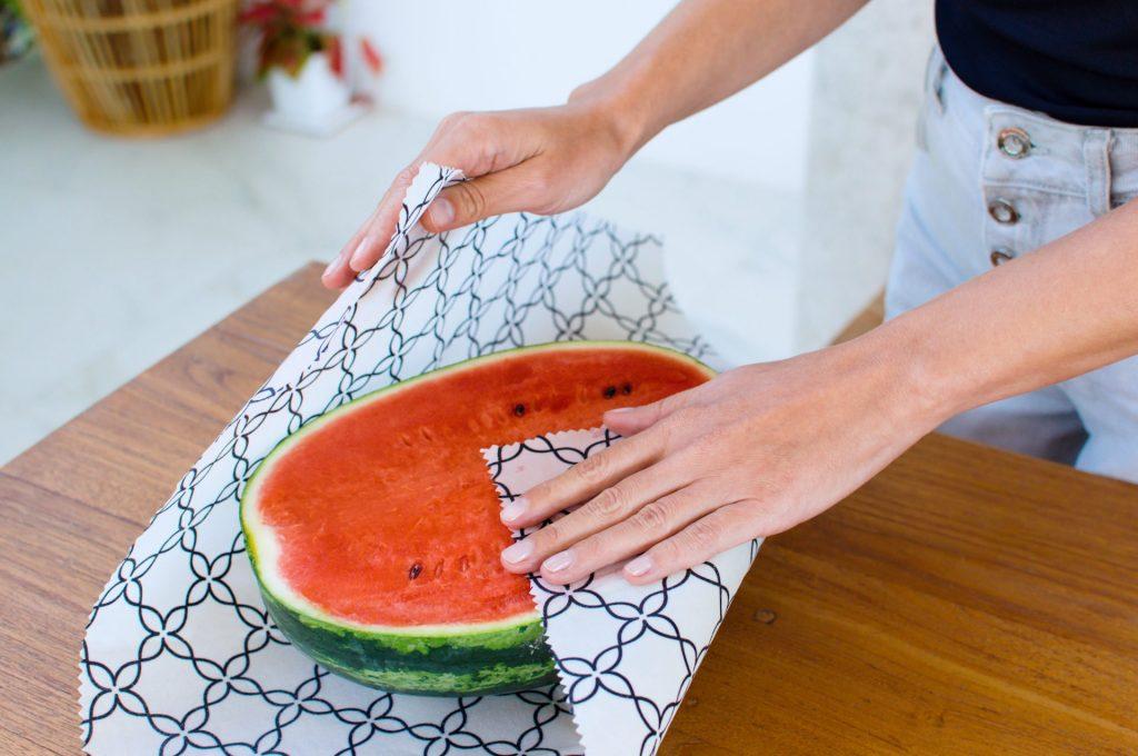 Beeswax Wrap XXL wrapping Watermelon